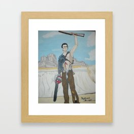 My Boomstick Framed Art Print