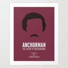 Dress The Part - Anchorman Art Print