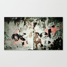 Wall #3 Canvas Print