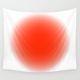 fluodot orange Wall Tapestry
