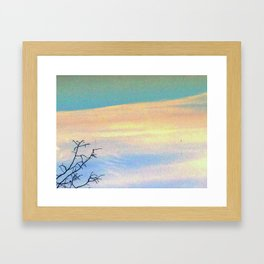 reAch a bit further Framed Art Print