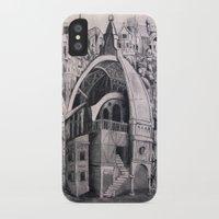 cities iPhone & iPod Cases featuring Cities Upon Cities by Katie Koop