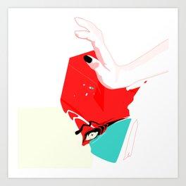 A Fistful of Candy Art Print