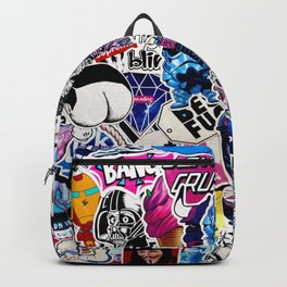 Bumper Stickers Backpack