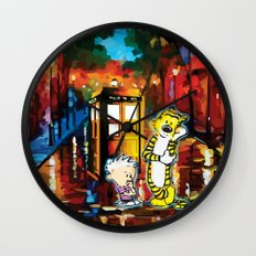 They are Thingking Wall Clock