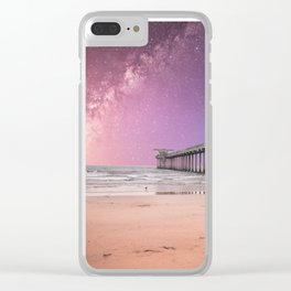 Pier into the Galaxy Clear iPhone Case