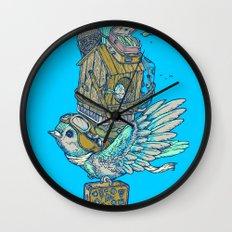 Bird Migration Wall Clock