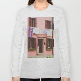 Burano in winter IV Long Sleeve T-shirt
