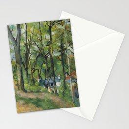 """Paul Cezanne """"The Orchard. La côte Saint-Denis à Pontoise"""" Stationery Cards"""