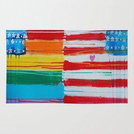 Flags for the Future 10 Rug