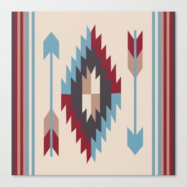 American Native Pattern No. 12 Canvas Print