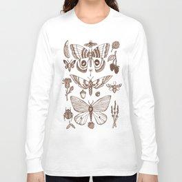 Natural History (Brown) Long Sleeve T-shirt