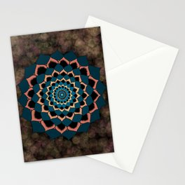 Blooming with Grace Mandala Stationery Cards