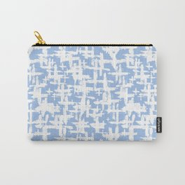 Brush cross on  blue Carry-All Pouch