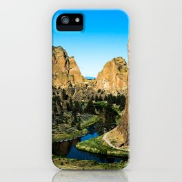 Rocks + River // Hiking Mountains Colorado Scenic View Landscape Photography Forest Backpacking Vibe iPhone Case