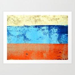 Sky Sea Beach 3 Art Print