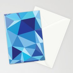 Geometric print Stationery Cards