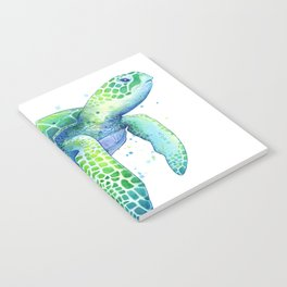 Green Sea Turtle Notebook