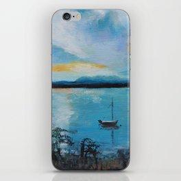 Lake Champlain at Sunset iPhone Skin