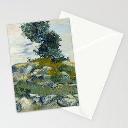 Vincent van Gogh - The Rocks (1888) Stationery Cards