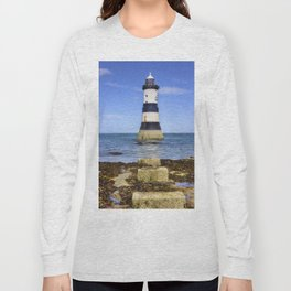 Penmon Lighthouse Long Sleeve T-shirt