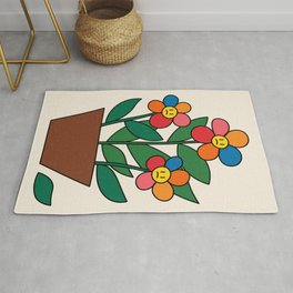 The True Reality / Flowers Rug
