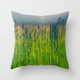 Kryptonic Place / Urban 25-12-16 Throw Pillow