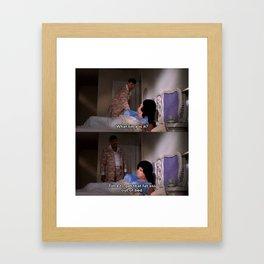 Fat Ass Framed Art Print