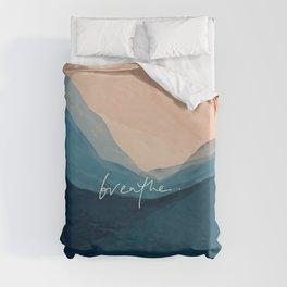 breathe. Duvet Cover