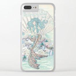 Anais Nin Mermaid [vintage inspired] Art Print Clear iPhone Case