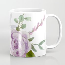 Dainty Spring Wildflower Floral Coffee Mug