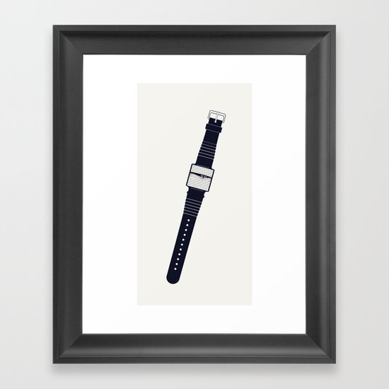 Watching. Framed Art Print