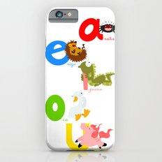 Vowels (spanish) iPhone 6s Slim Case