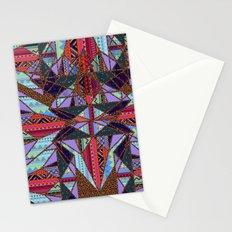 RETRO KALEIDOSCOPE //TWO Stationery Cards