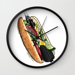 My Chicago Style Wall Clock