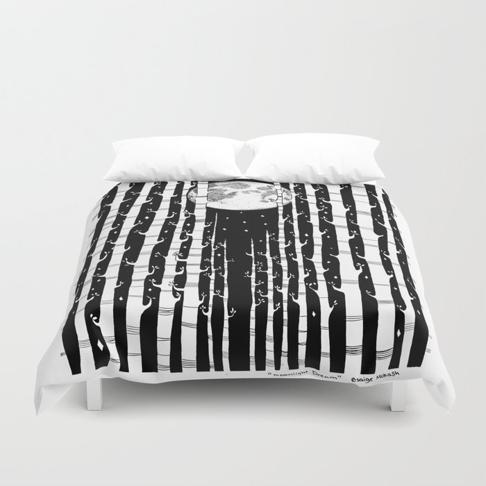 MoonLight Dream Duvet Cover