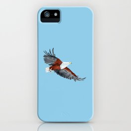 African Fish Eagle (haliaeetus vocifer) iPhone Case