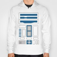 r2d2 Hoodies featuring R2D2 by Alison Lee