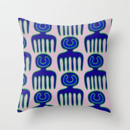 Pic Happy Throw Pillow