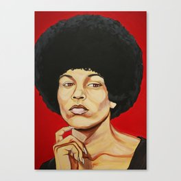 "Angela Davis ""Revolutionary"" Canvas Print"
