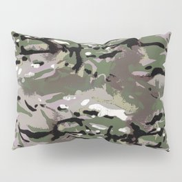 Camo Camo, and the art of disappearing. Pillow Sham