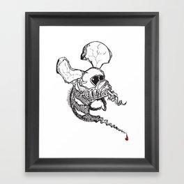 Seeing Elephant Flies Framed Art Print