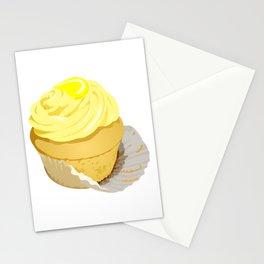 Lemon Cupcake Stationery Cards