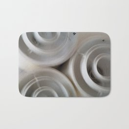 vintage blurry luminaries Bath Mat