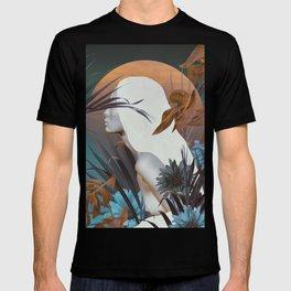 Golden Tropical Garden T-shirt