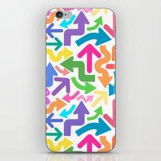 Arrow color iPhone & iPod Skin