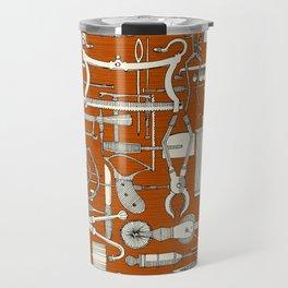 fiendish incisions rust Travel Mug