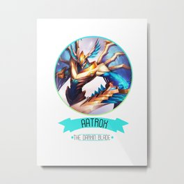 League Of Legends - Aatrox Metal Print