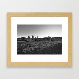 Australian Ruin Framed Art Print