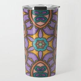 Mandala Mirror Travel Mug